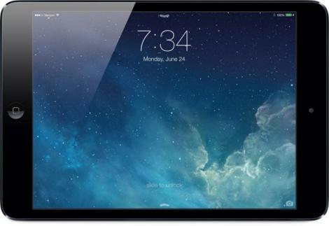 Apple iOS 7 на iPad mini