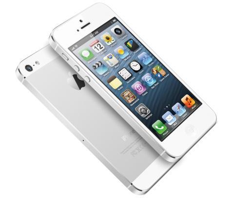 Белый iPhone 5 фото