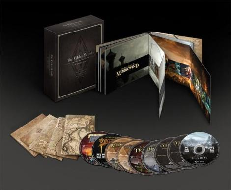 Elder Scrolls Anthology Box