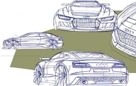 Audi Quattro Sport E-Tron