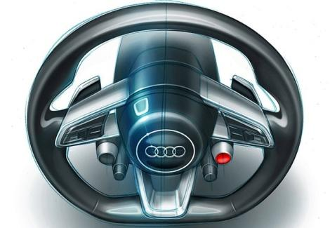 Audi Quattro Sport E-Tron руль