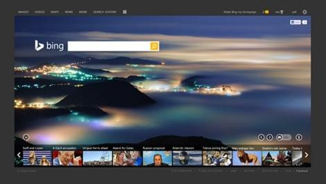 bing search