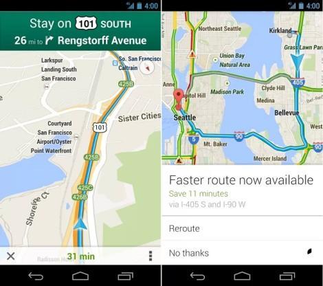 google maps для android