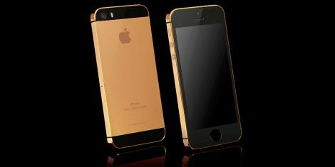 iphone 5s в розовом золоте