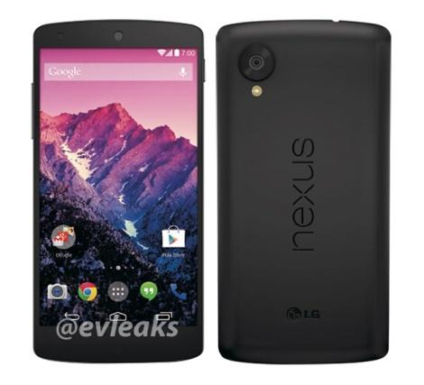 nexus 5 press