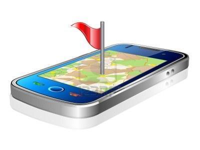 Смартфон с GPS