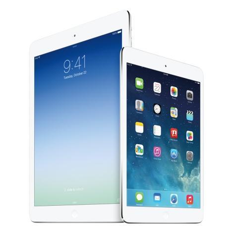 Apple iPad mini 2 и Apple iPad Air