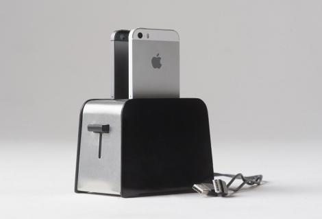 Foaster Charging Toaster