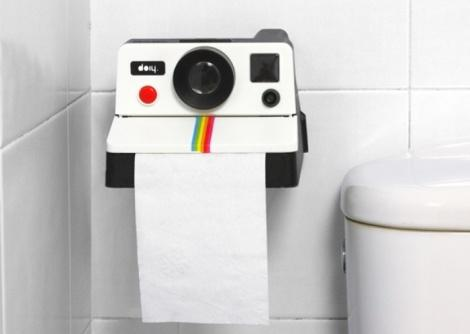 Polaroid Tissue Holder