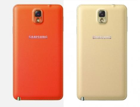 Red and Gold Samsung Galaxy Note 3