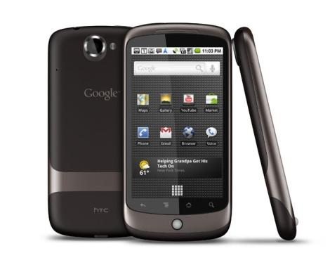 Google Nexus One фото