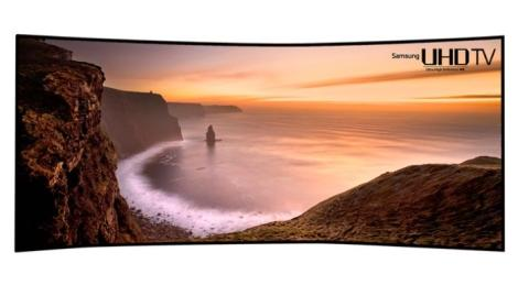 Curved Ultra HDTV