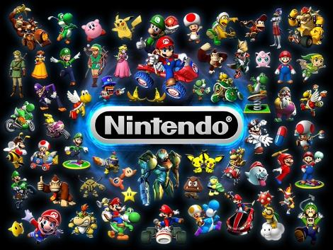 Nintendo персонажи