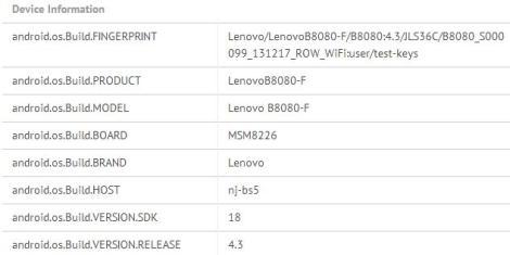 Lenovo B8080