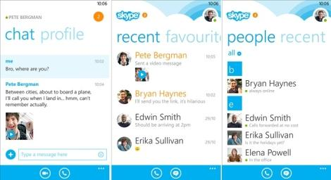 Обновление skype для windows phone