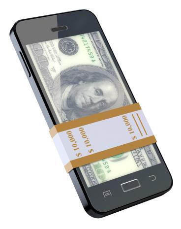 Смартфон и деньги
