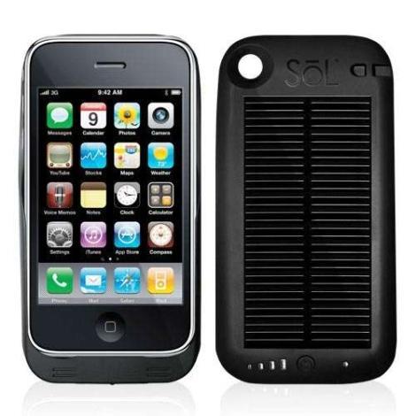 solar smartphone
