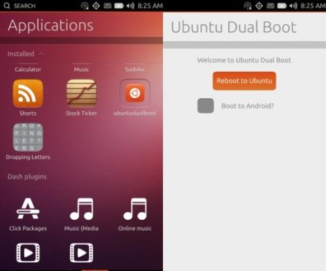 Ubuntu and Android dual boot