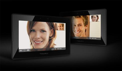BB PlayBook VideoChat