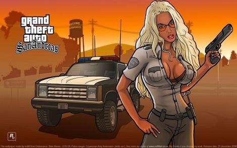 Grand Theft Auto GTA: San Andreas 2004