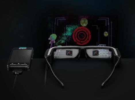 Epson Moverio BT-200 Smart Glasses