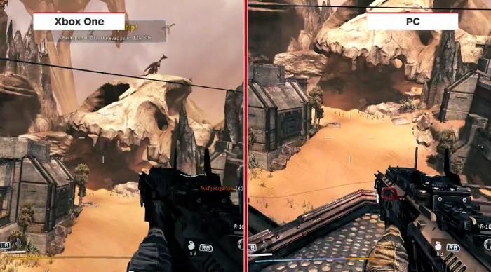 Titanfall Xbox One vs PC