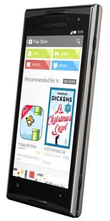 Lumigon представил смартфон T2 HD из нержавеющей стали