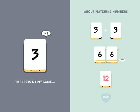 threes game