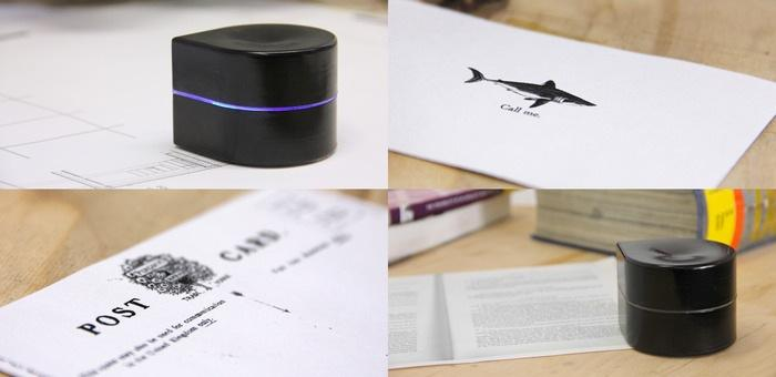 Mini-Mobile-Robotic-Printer