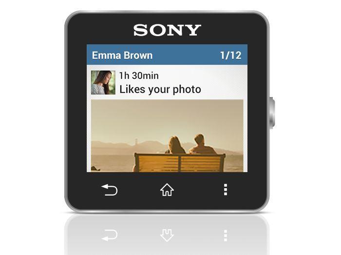 Sony SmartWatch 2 Instagram