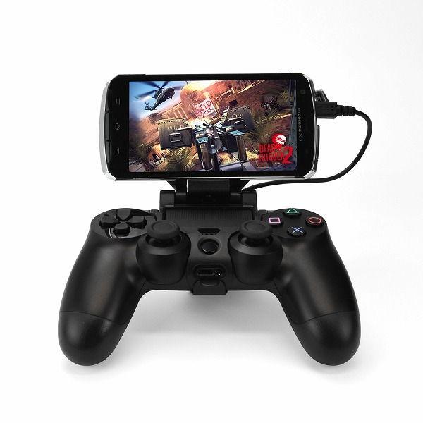 DualShock 4 и смартфон