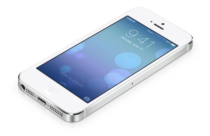 iPhone 5S официальное фото