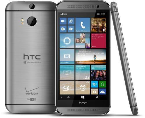 HTC One (M8) with Windows Phone