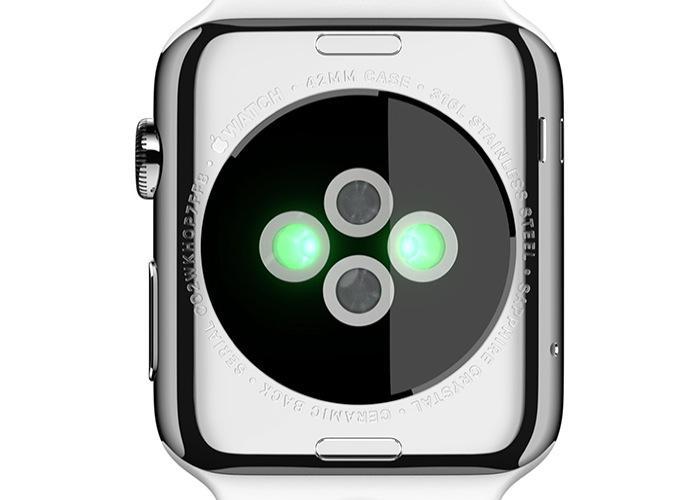 Задняя сторона Apple Watch