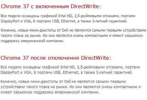 Разница на примере нашего сайта