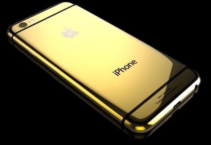 iPhone 6 Plus из золота