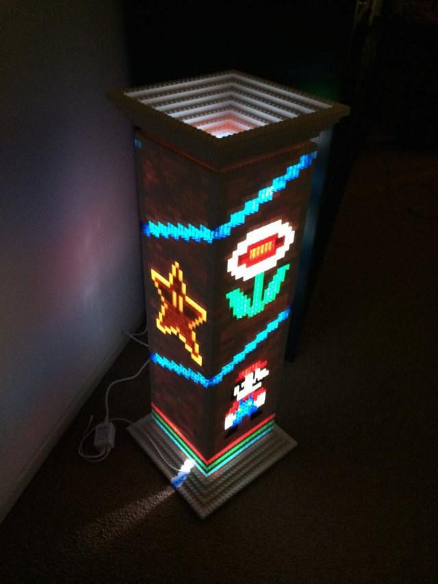 LEGO Super Mario Lamp