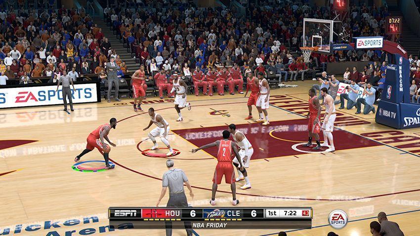 NBA LIVE 15 геймплей