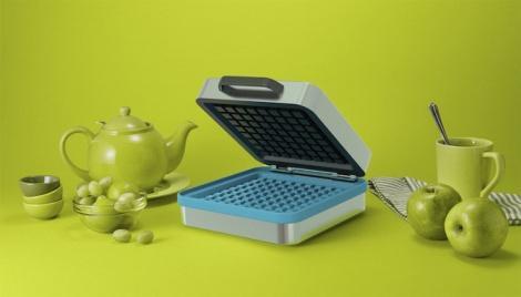 pixel waffle