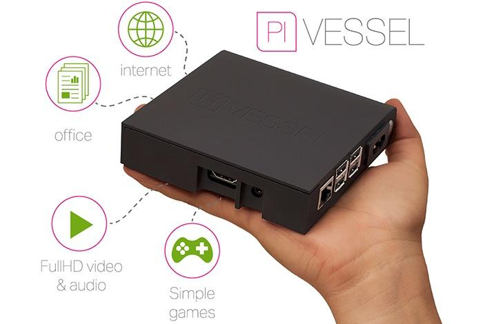 Pi Vessel Mini PC