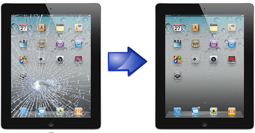 замена дисплея iPad