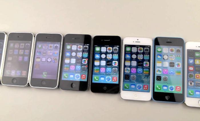 iphone падение тест