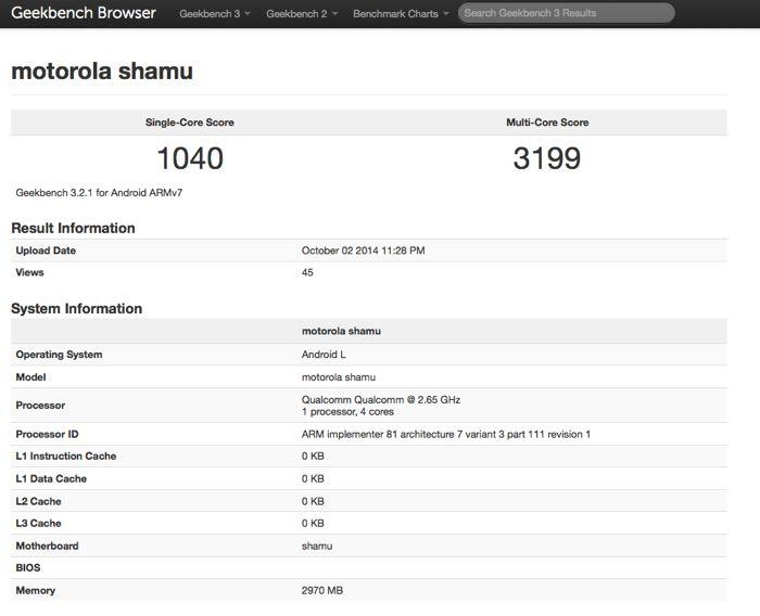 Google Nexus 6 (Shamu)