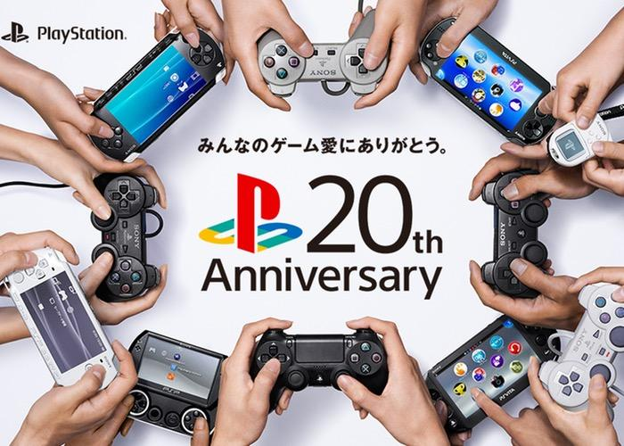PlayStation 20 лет
