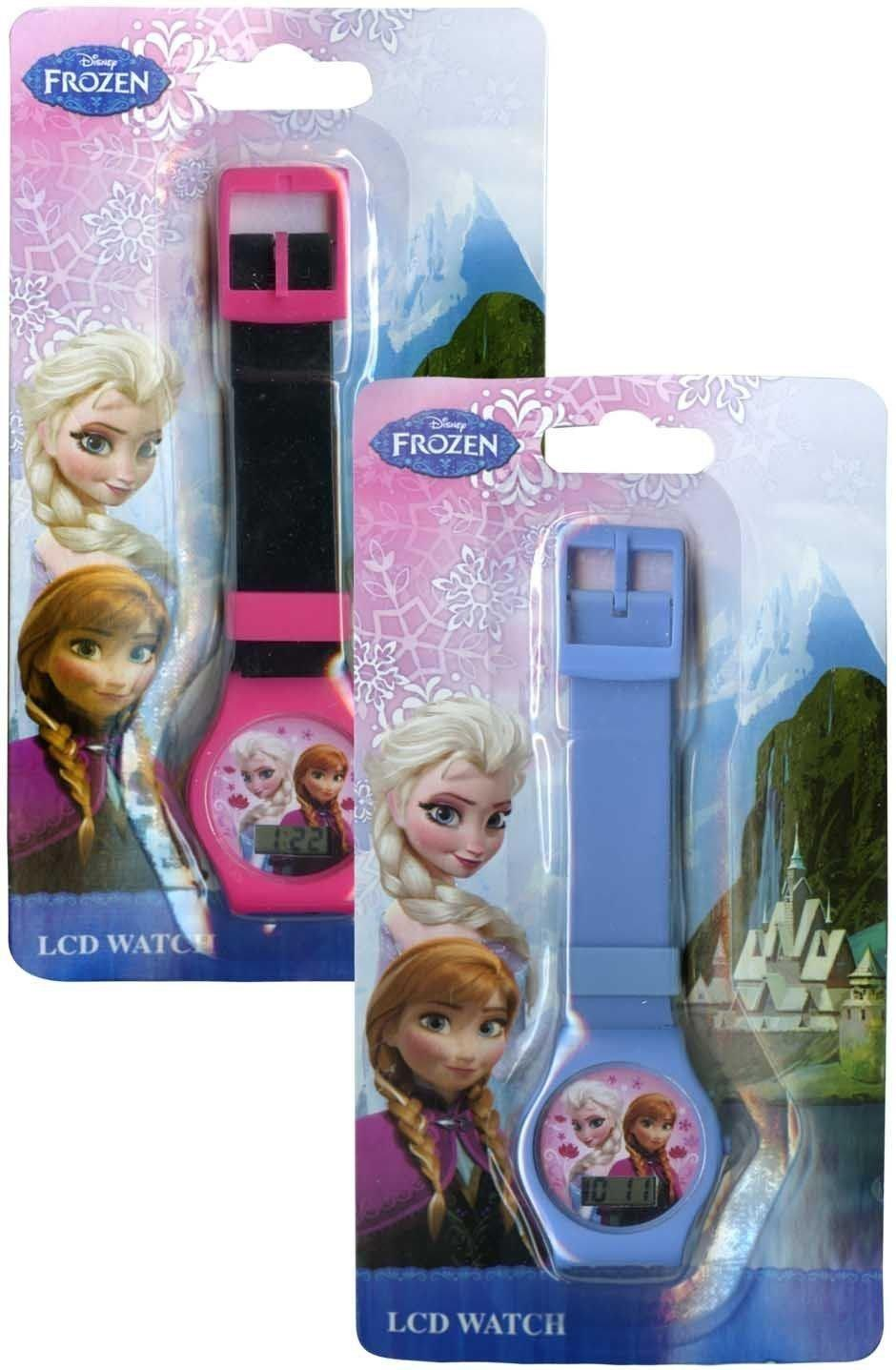 Disney Kids' Frozen Anna and Elsa Digital Watch