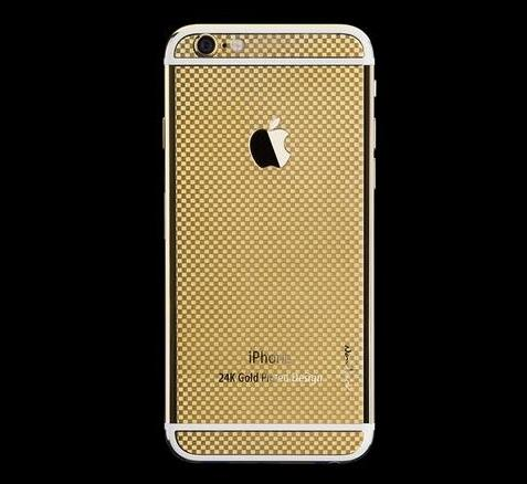 24K Gold Plater iPhone 6