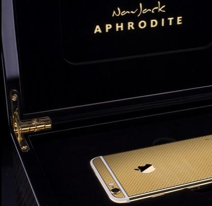 Коробка с iPhone 6 Gold