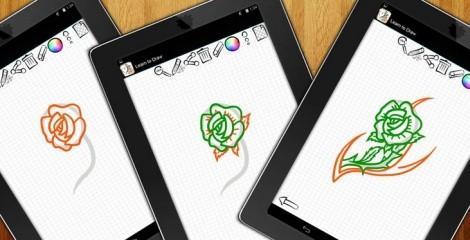 Как рисовать тату Android