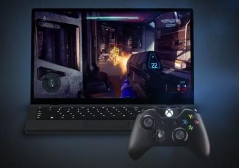 Xbox One на ноутбуке