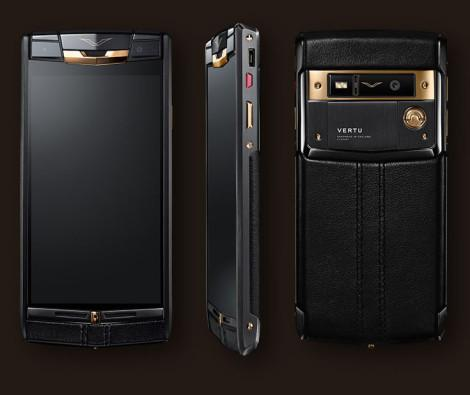 Vertu Pure Jet Red Gold